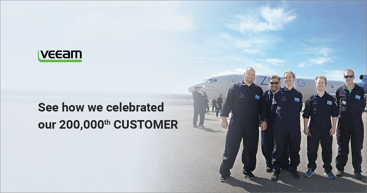200,000th customer awarded with zero gravity flight